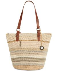 The Sak Silverwood Crochet Tote, Created For Macy's - Natural