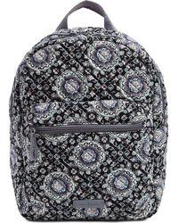 ba3161467f73 Vera Bradley - Iconic Leighton Backpack - Lyst