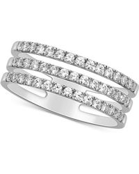 356607ca51592 Theo Fennell 18ct White Diamond Spangle Ring in Metallic - Lyst
