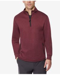 32 Degrees - Fleece Tech Quarter Zip - Lyst