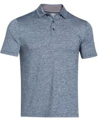 Under Armour - Playoff Striped Performance Polo - Lyst
