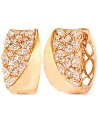 Le Vian - ® Nude Diamondstm Hoop Earrings (1-5/8 Ct. T.w.) In 14k Gold - Lyst