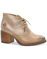 Patricia Nash - Veneto Lace-up Booties - Lyst