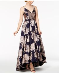 Xscape - Floral-brocade Ball Gown - Lyst