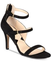 Adrienne Vittadini Georgino Dress Sandals - Black
