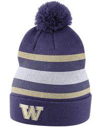 8a5f6f23d50cf Nike - Washington Huskies Sideline Knit Hat - Lyst