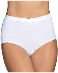 Vanity Fair Beyond Comfort Silky Stretch Brief 13290 - White
