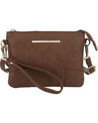Kensie Crossbody Bag - Brown