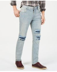 American Rag - Slim-fit Ripped Jeans, Created For Macy's - Lyst