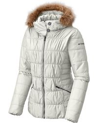 Columbia - Sparks Lake Faux-fur-trim Thermal Coil Puffer Jacket - Lyst