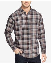G.H.BASS - Fireside Flannel Shirt - Lyst