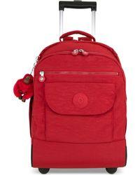 8ed476f4a Kipling Luggage Sanaa Wheeled Backpack in Blue - Lyst