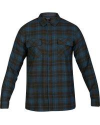 Hurley - Taylor Long Sleeve Shirt - Lyst