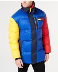 Tommy Hilfiger - Wilson Colorblocked Puffer Jacket - Lyst