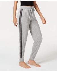 INC International Concepts - I.n.c. Soft Knit Metallic-trim Jogger Pyjama Trousers, Created For Macy's - Lyst