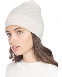 Charter Club Check-knit Cashmere Beanie, Created For Macy's - Multicolor