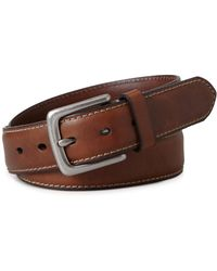 Fossil - Belt, Aiden Leather Belt - Lyst
