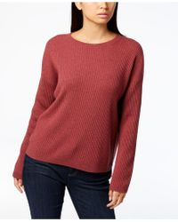 Eileen Fisher - Ribbed Cashmere Jumper - Lyst