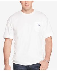 Polo Ralph Lauren - Solid Pocket T Shirt - Lyst