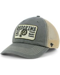 Lyst - 47 Brand Washington Redskins Franchise Hat in Yellow for Men 161660a8c