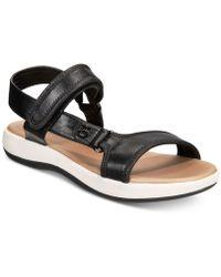 Giani Bernini Foyla Memory-foam Platform Sandals, Created For Macy's - Black