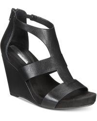 INC International Concepts - Women's Lilbeth Wedge Sandals - Lyst