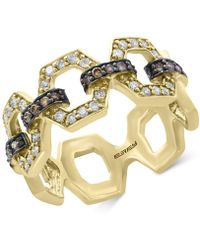 Effy Collection - Diamond Link Statement Ring (1/2 Ct. T.w.) In 14k Gold - Lyst