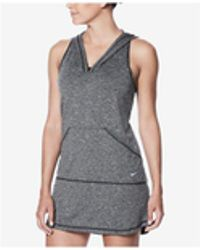 Nike - Hooded Dress Cover-up - Lyst