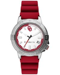 Columbia Peak Patrol Oklahoma Silicone Strap Watch 45mm - Red