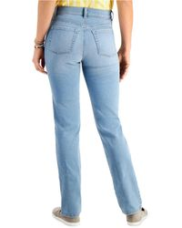 Style & Co. Tummy-control Straight-leg Jeans, Created For Macy's - Blue