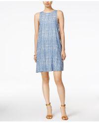Velvet Heart Tala Dot-print Dress - Blue