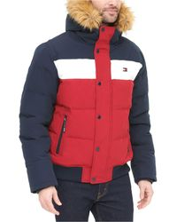 Tommy Hilfiger Short Snorkel Coat, Created For Macy's - Blue