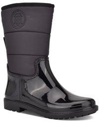 Tommy Hilfiger Snows Rain Boots - Black