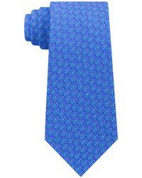 Michael Kors - Geometric Pattern Silk Tie - Lyst