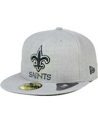 9299f55ca Lyst - Ktz Women s New Orleans Saints Salute To Service Knit Hat in ...