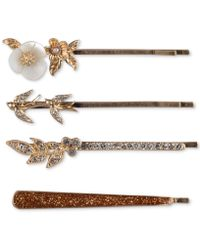 Lonna & Lilly Gold-tone 4-pc. Set Bobby Pin, Created For Macy's - Metallic