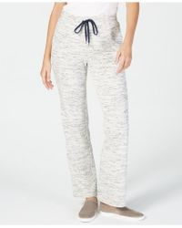 Charter Club Space-dye Knit Sweatpants, Created For Macy's - Gray