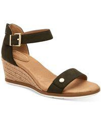 Giani Bernini Daytonn Wedge Sandals, Created For Macy's - Green