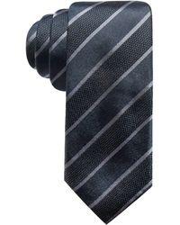 Alfani - Stripe Slim Silk Tie, Created For Macy's - Lyst