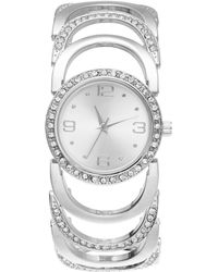 Charter Club - Silver-tone Large-link Bracelet Watch 30mm, Created For Macy's - Lyst