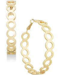 INC International Concepts | I.n.c. Silver-tone Circle Hoop Earrings, Created For Macy's | Lyst