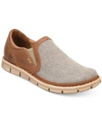 Born - Sawyer Perforated Double Gore Slip-on Loafers - Lyst