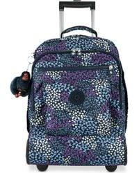 Kipling Sanaa Rolling Backpack - Blue