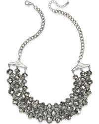 INC International Concepts - Silver-tone Beaded Chain Necklace - Lyst