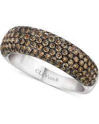 Le Vian - Chocolatier® Diamond Band (1-1/5 Ct. T.w.) In 14k White Gold - Lyst