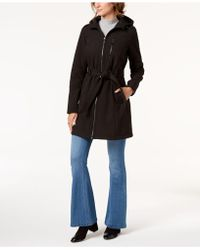 BCBGeneration - Hooded Raincoat - Lyst