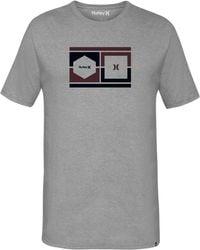 Hurley - Sights Graphic-print T-shirt - Lyst