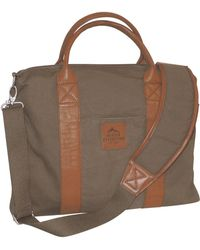 Buxton Expedition Ii Huntington Gear Laptop Briefcase - Brown