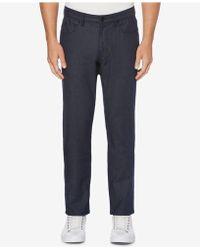 Perry Ellis - Slim-fit Tech Trousers - Lyst