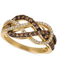 Le Vian - Diamond Weave Ring (5/8 Ct. T.w.) In 14k Gold - Lyst